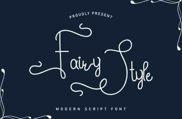 Fairy Style Handwriting Font