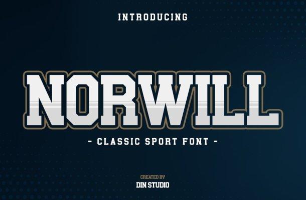 Norwill Classic Sport Display Font