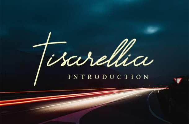 Tisarellia Handwritten Font