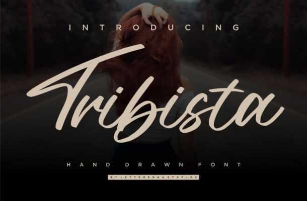 Tribista Handwritten Font