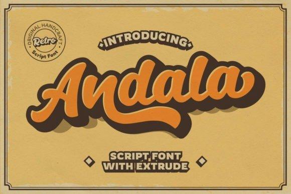 Andala Script Font Free