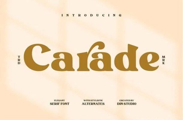 Carade Serif Font Free