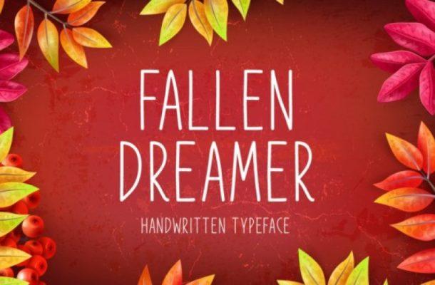 Fallen Dreamer Sans Serif Font