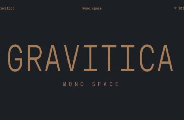 Gravitica Mono Sans Serif Font