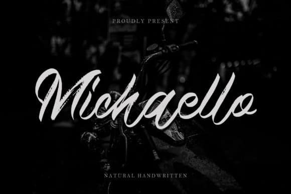 Michaello Brush Font