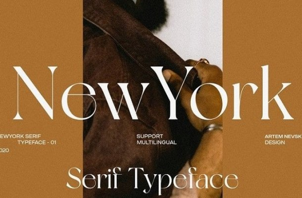 NewYork Serif Font Free