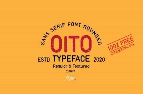 Oito Display Font Family