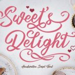 Sweets Delight Calligraphy Font