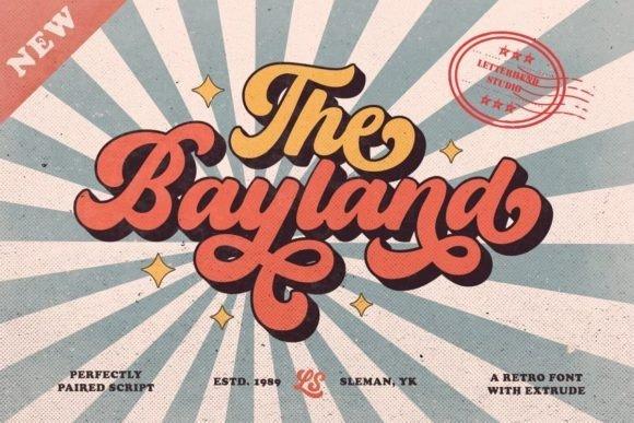Bayland Script Font Free