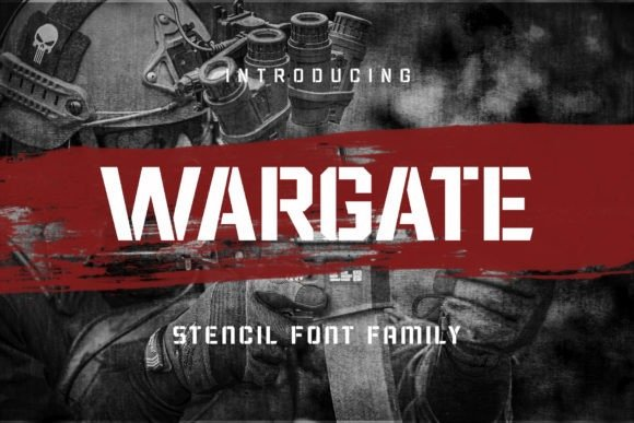 Wargate Display Font