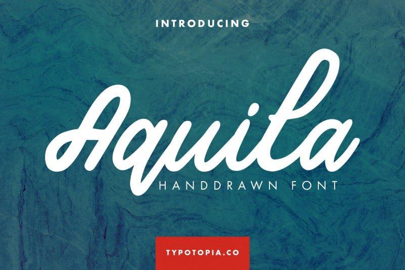 Aquila-Handdrawn-Script-Font-Cover
