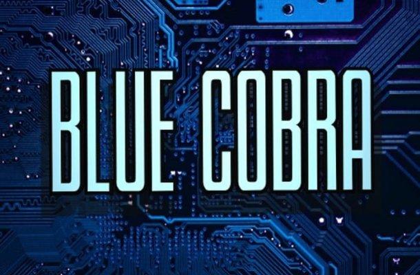 Blue Cobra Display Font