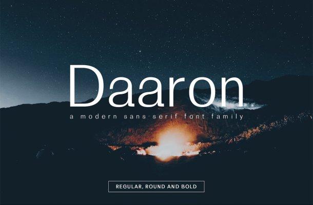 Daaron Font Family