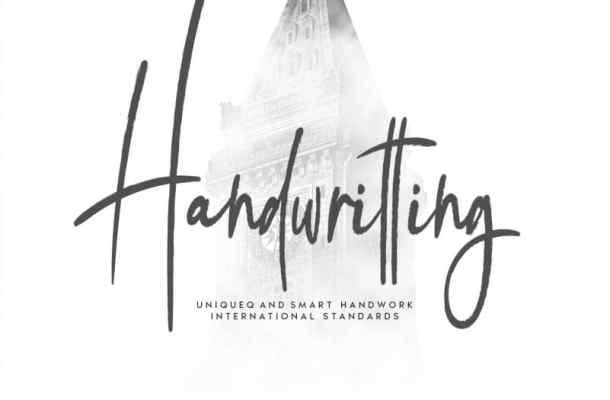 Handwritting Script Font