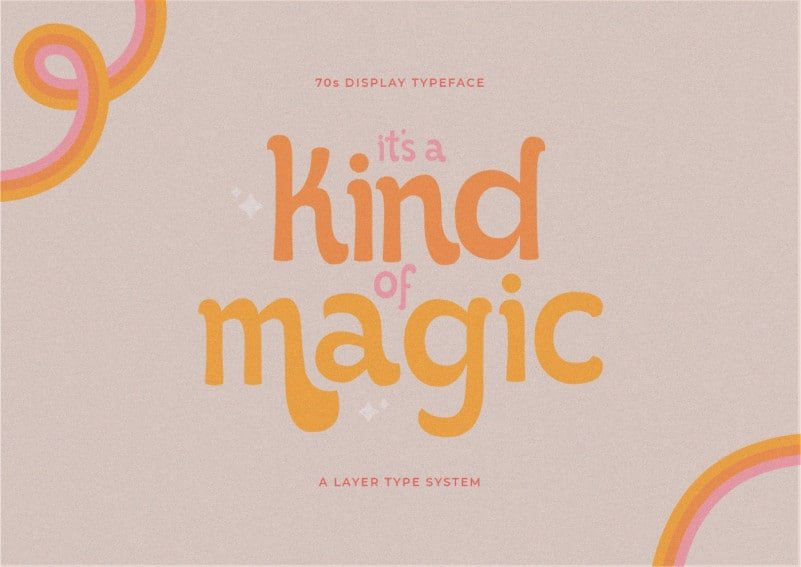 Kind of Magic Script Font
