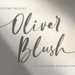 Oliver Brush Font