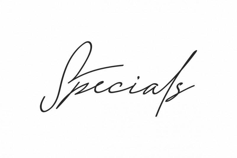 Specials Signature Font