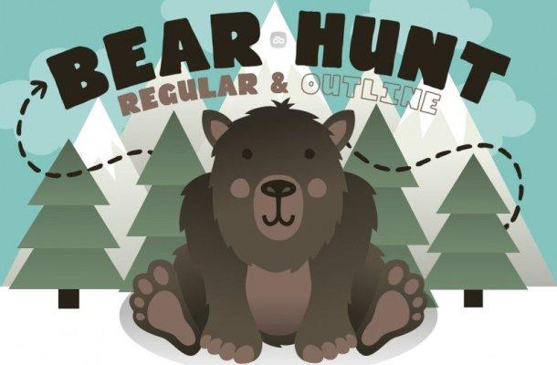 Bear Hunt Display Font