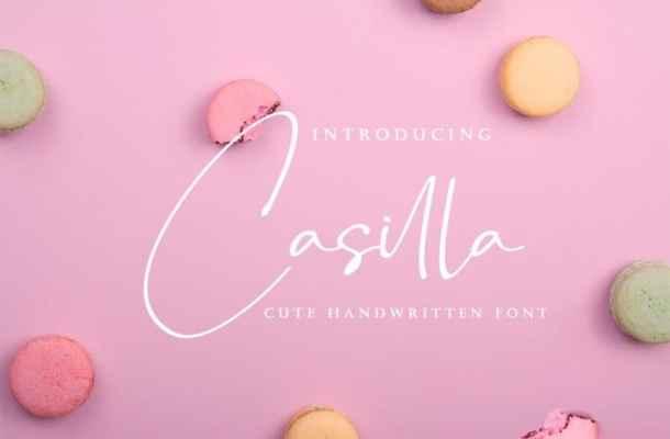 Casilla Script Font