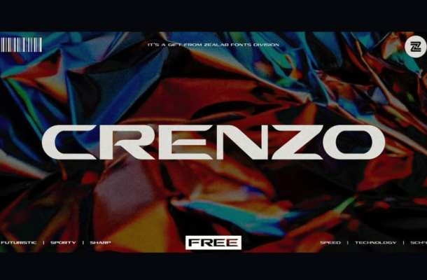 Crenzo Display Font