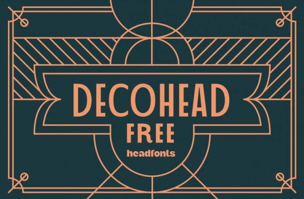 Decohead Sans Serif Font
