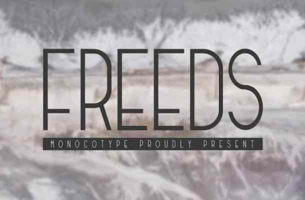Freeds Sans Serif Font