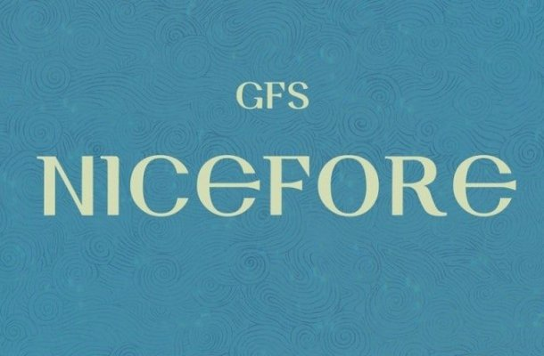 GFS Nicefore Display Font