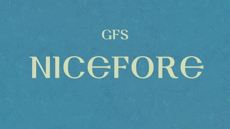 gfs-nicefore-font-2