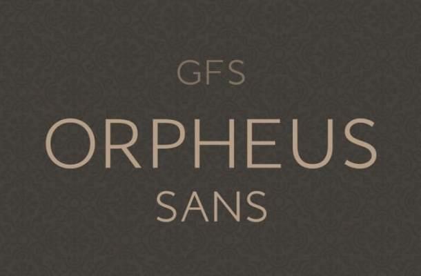 GFS Orpheus Sans Serif Font