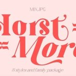 Horst More Serif Font Demo