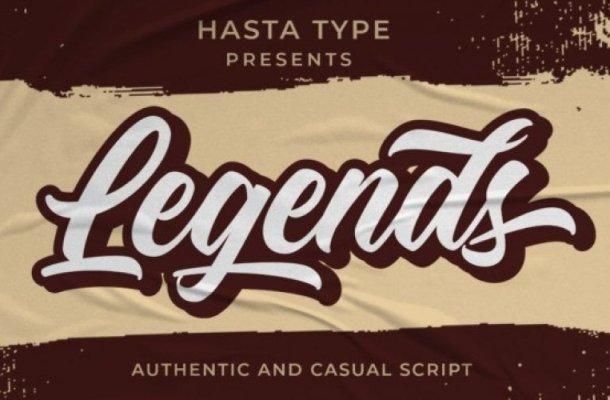 Legends Calligraphy Font