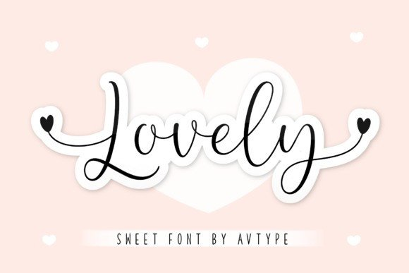 Lovely Display Font