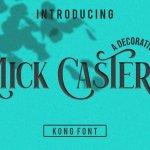 Mick Caster Serif Font