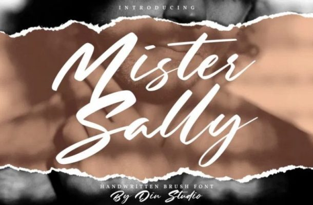 Mister Sally Script Font