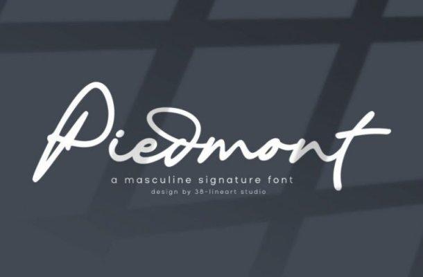 Piedmont Script Font