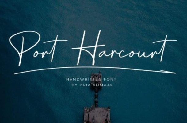 Port Harcourt Handwritten Font