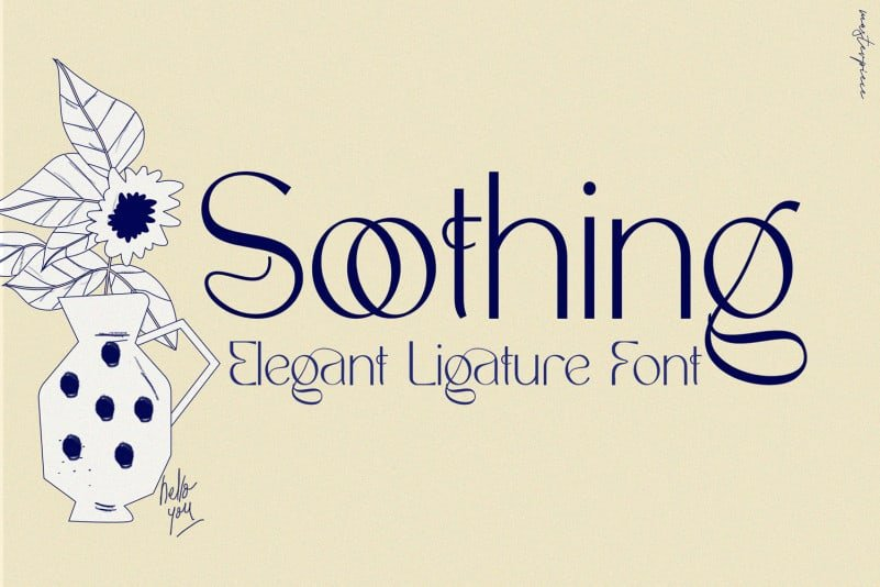 soothing-font-1