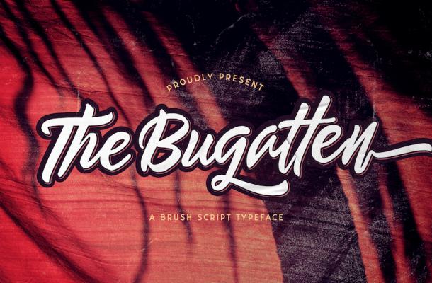 The Bugatten Script Font