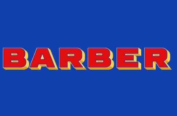 Barber Display Font