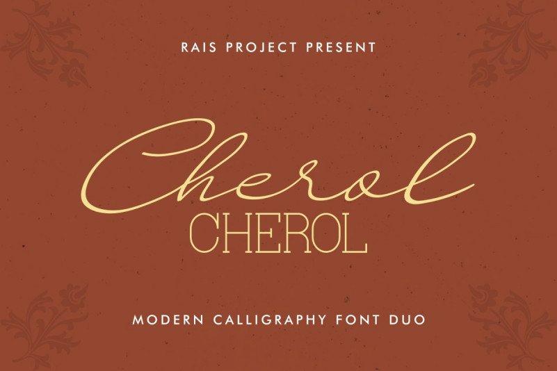 CHEROL Font Duo