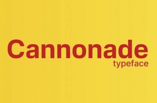 Cannonade Font