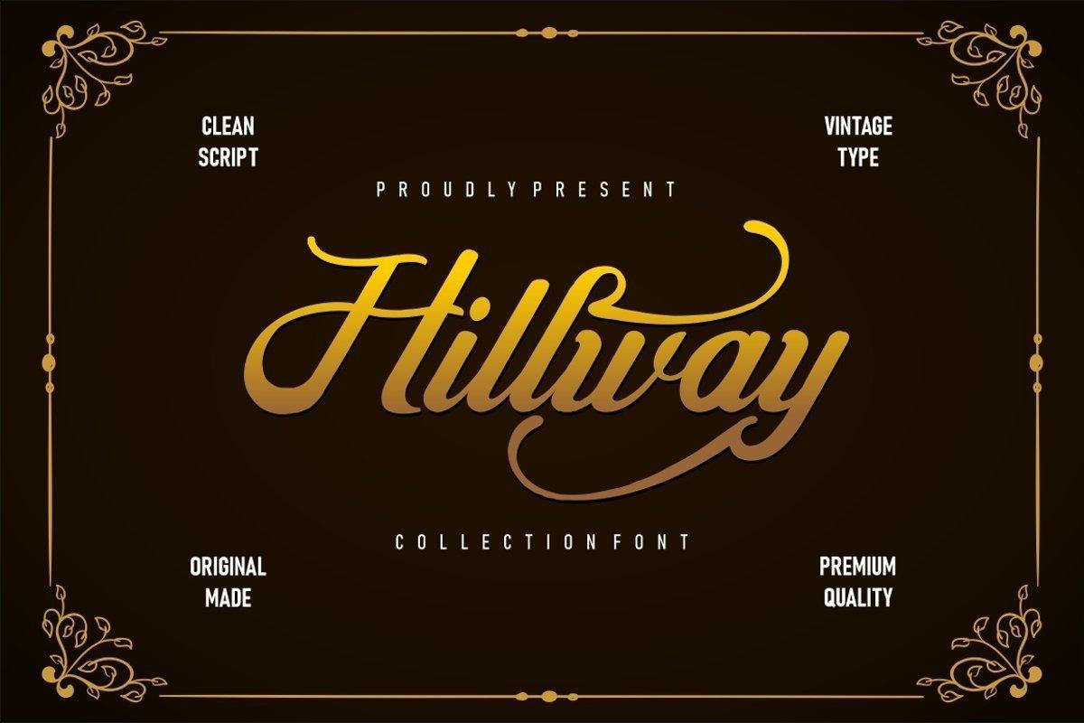 Hillway-Font