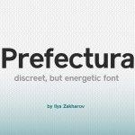 Prefectura Font Free