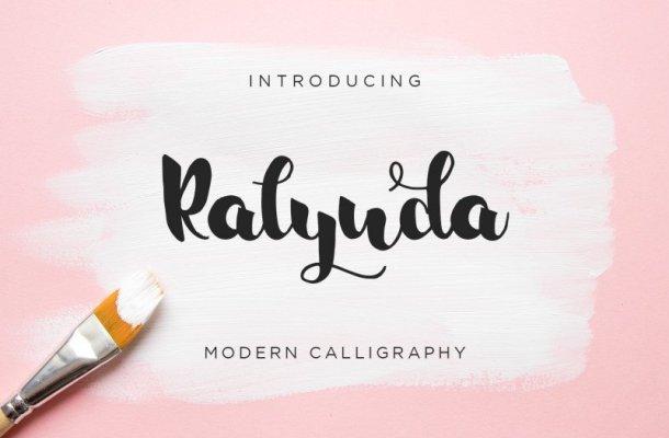Ralynda Calligraphy Font