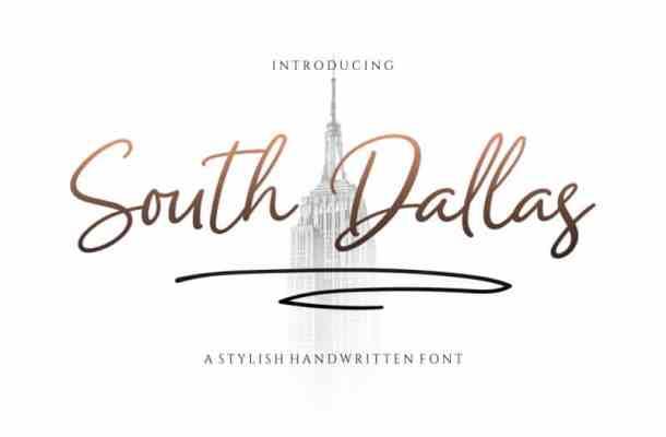 South Dallas Script Font