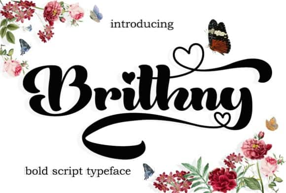 Brithny Script Font