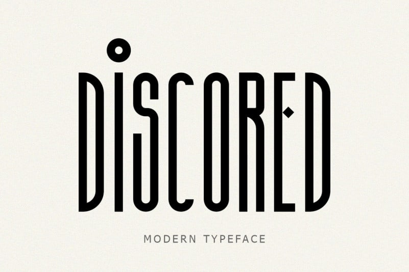 discored-font-4