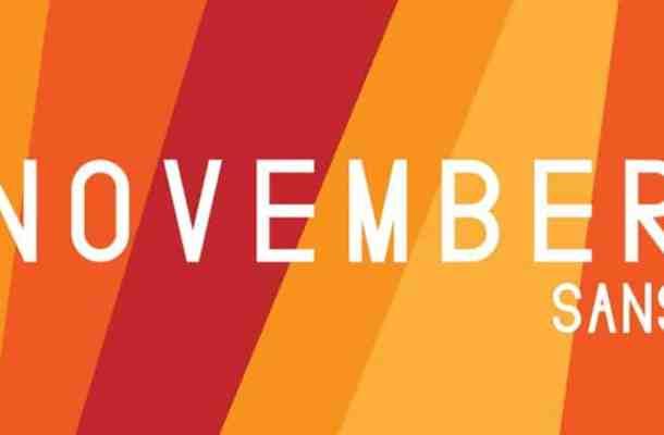 November Sans Serif Font