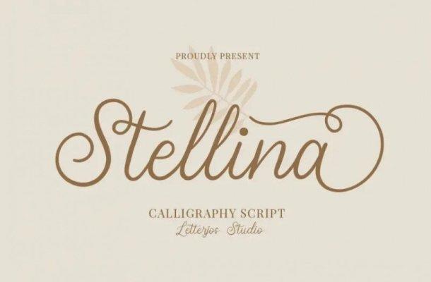 Stellina Calligraphy Font