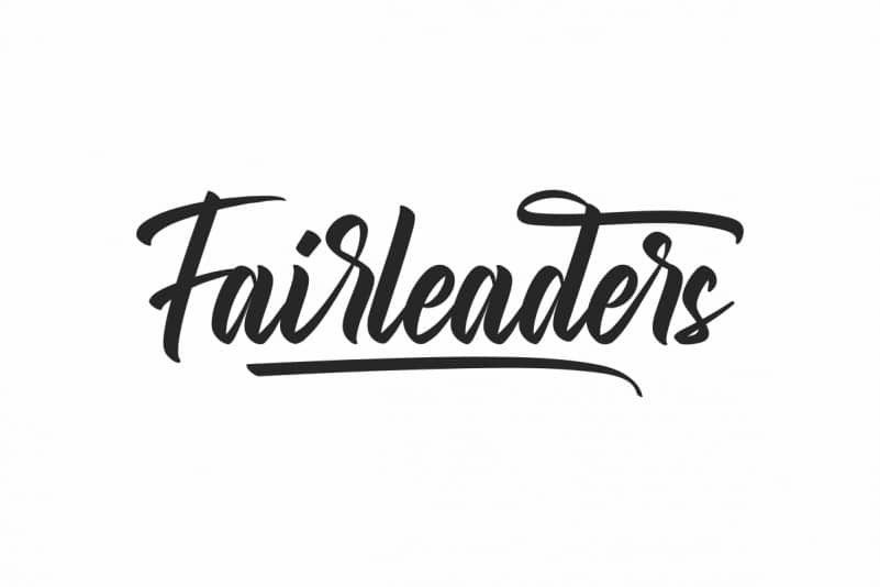Fairleaders Brush Font